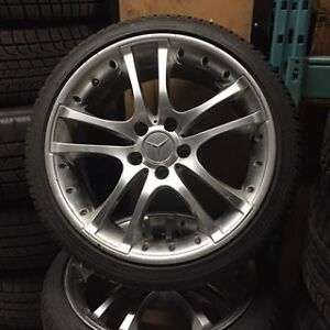 Mercedes CLK350 Winter Tires & Wheels-USED!