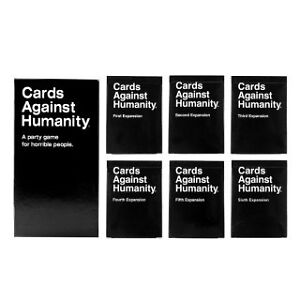 Cards Against Humanity  Base set + Exp 1-6 SEALED