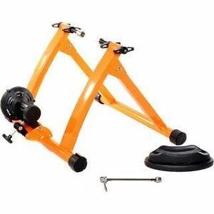 Support d'entrainement à vélo avec et sans résistance variable - Ajustable Bike trainer NEUF