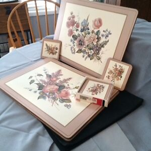 Vintage Pimpernel Placemats and Coasters set Cambridge Kitchener Area image 2