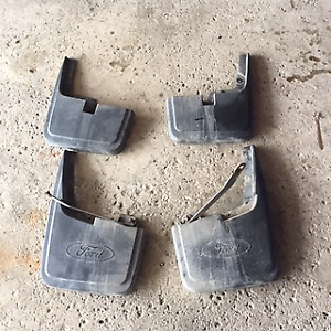 F-150 Mud Flaps (4) - For Truck WITHOUT Fender Flares