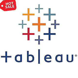 Tableau Desktop Professional 2020 Edition & Tableau Prep 1 Year 2 PC License Key