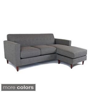 LF: Small grey sectional