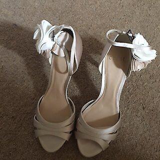 Coast Satin Sandals size 6