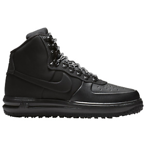 Nike Lunar Force 1 Duckboot '18 Air Boots Shoes Black New
