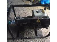 Generator for sale. gx160 Honda 5.5