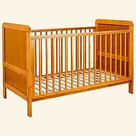 Convertible cot bed mamas and papas