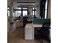 2 Desks avail in light, bright Covent Garden Office. Sharing with a young start-up team