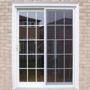 \\\REDUCED///  15 ft patio doors with windows