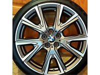 "BMW Alloys and Tyres 19"" Styling 557 M V-Spoke (set of 4). Other BMW parts available see description"