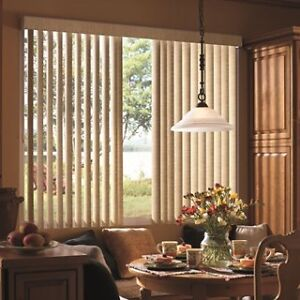 Vertical window treatments