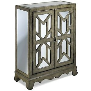 BRAND NEW MIRRORED ACCENT CABINET