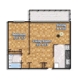 2050 Keele 1 Bedroom at Keele and Lawrence NEWLY RENOVATED