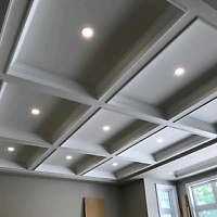 **DUSTLESS** Stucco/Popcorn Ceiling Removal & Drywall Finishing