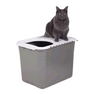 3 Top Entry Litter Boxes