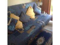 delightful french sofa bed in pristine condition. Extremely comfortable