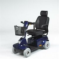 FORTRESS 1700 4 WHEEL SCOOTER - BLUE