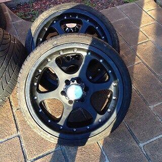 "20""x9 6 stud wheels navara triton hilux hiace Cabramatta West Fairfield Area Preview"