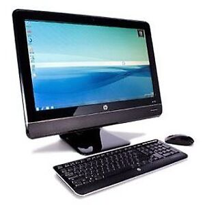 """HP Compaq 8200 Elite All-in-One PC - Core i5 2.5 GHz - 23"""" LED"""