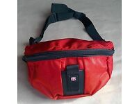 Red waist/bum bags travel party leisure 100pcs