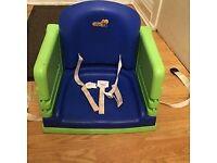 Highchair booster seats