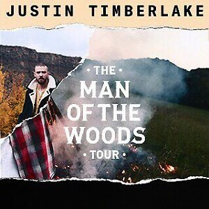 Justin Timberlake Man of the Woods Tour - Oct 9