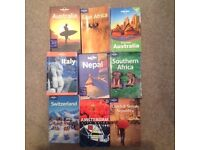 Lonely Planet Books - Selection
