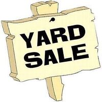 Yardsale in Plainfield