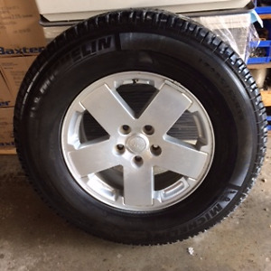 Michelin LTX A/T 10ply tires and Jeep rims
