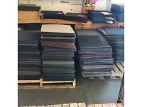 Brand new carpet tiles 75p each mix and match patchwork