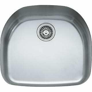 "Franke PRX11021 Prestige Franke 22-1/4"" Single Basin Kitchen Sink for Undermount"
