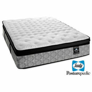 Sealy Spartacus Posturepedic Firm King size Mattress BRAND NEW