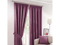 Free purple curtains