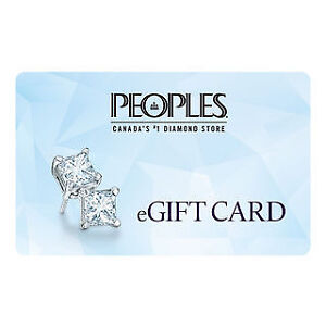 peoples jewelers gift card $500