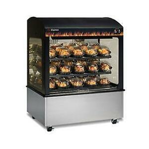 Heated Display Cabinet - Hot Food Display Case Counters