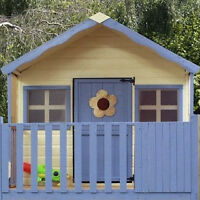 NEW Wooden playhouse with balcony reg $2200 asking $1000 boo