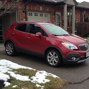 2014 Buick Encore Luxury Leather SUV, Crossover,mint low klms