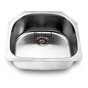Bristol Single Undermount stainless sink