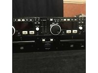 Denon Twin Cd MP3 players