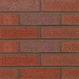 65mm-Forterra-County-Red-Multi-Dragfaced-Brick- £125 per pack