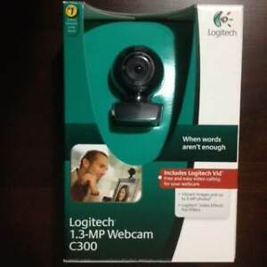 Logitech C300 1.3MP Webcam Video Chat Camera Strathfield Strathfield Area Preview