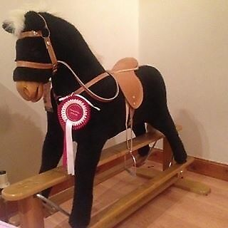 Mamas & Papas rocking horse. Pick up Rutherglen