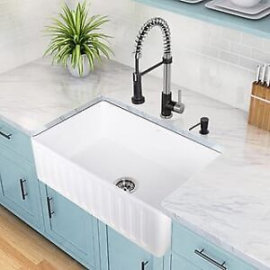Fireclay Kitchen Sink - Save 20%-50% on Fireclay Sinks