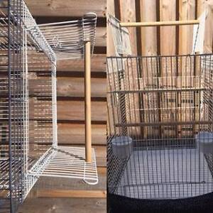 Large white bird cage for parrot Caboolture Caboolture Area Preview