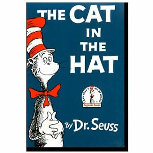The Cat in the Hat by Dr. Seuss Hardcover Books