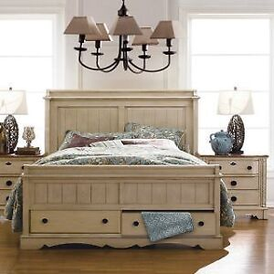 Carefully used King size bed for sale