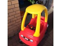 Little Tikes Red & Yellow Car