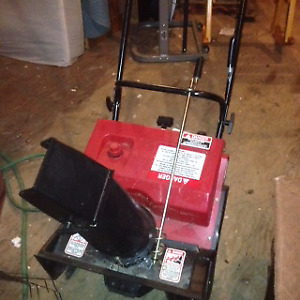 3 HP Murray snowthrower (never used)