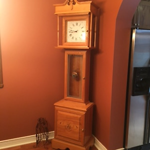 Solid Ash Grandfather Clock - must pick up