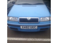 SKODA FELICIA 1.2 CC 2000/X VERY LOW MILEAGE GOOD CONDITION M'O'T APRIL